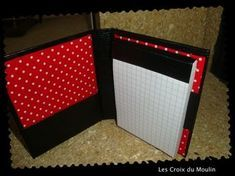 Tuto du porte bloc Notebook Covers, Artist Trading Cards, Mini Albums, Origami, Stampin Up, Notes, Templates, Diy, Crafts