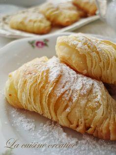 La cuisine creative: Sfogliatelle i mala čajanka kod Jelene Puff Pastry Desserts, Pastry Recipes, Sweet Desserts, Sweet Recipes, Baking Recipes, Delicious Desserts, Italian Desserts, Bosnian Recipes, Croatian Recipes