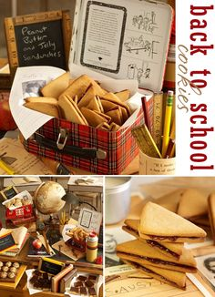 PB Sandwich Cookies from Julia M Usher's Cookie Swap book ~ perfect for a back to school party! Photos by Steve Adams.