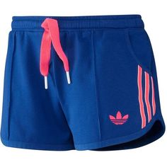 Summer Shorts (32 CAD) ❤ liked on Polyvore featuring activewear, activewear shorts, shorts, pants, sport, adidas activewear, adidas sportswear and adidas