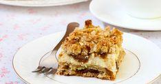 Fogyózol, de édességet kívánnál? A túrós-zabpelyhes sütiből bátran csipegethetsz.
