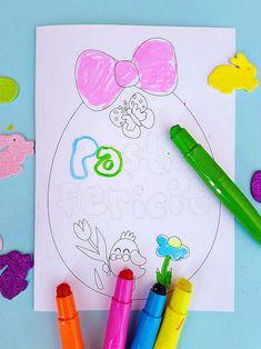 felicitare de Paște, materiale imprimabile de Paște, Paște fericit