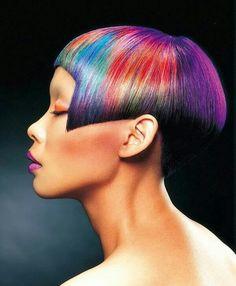 Rainbow shine line