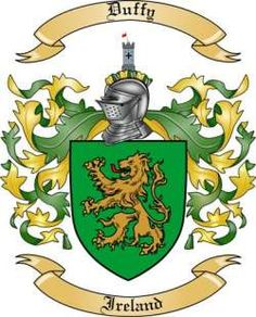 duffy Crest | Irish Coats of Arms Family Crests