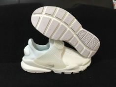 best service a963c 663ea Chaussures de sport 2017 Summer Spring Nike Sock Dart All White blanc  848475 100 Youth Big Boys Shoes