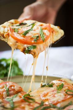 Grilled Caprese Pizza  - Delish.com