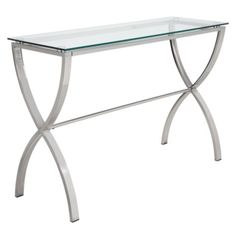 Cosmopolitan Console Table from Z Gallerie / might be a perfect table to break up dining room set?