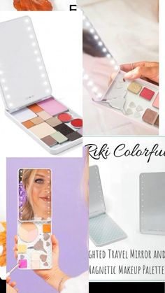 Beauty Guide, Beauty Advice, Led Mirror, Mirror With Lights, Riki Mirror, Makeup Over 40, Cosmetic Storage, Free Products, Paraben Free