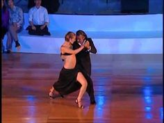 Roberto Herrera y Silvana Capra 2008 at the Taipei Tango Festival - La Cumparsita - YouTube