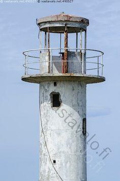Neeme lighthouse, abandoned, Ihasalu peninsula, Estonia