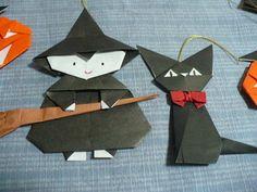 witch origami