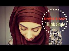 EASY HIJAB TUTORIAL / TUTO HIJAB FACILE - YouTube
