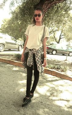 My Style / Tartan and creepers (by Gizele Oliveira) http://lookbook.nu/look/4755219-tartan-and-cr...