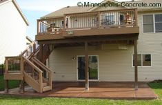 patio under deck designs | ... space, and it is hard to grow grass or other vegetation under a deck