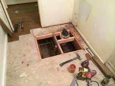 How To Replace A Rotting Bathroom Floor Home Improvements - Best material for bathroom subfloor