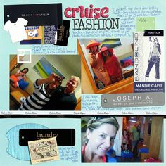 7 Layouts/One Night:  #1 Cruise Fashion by katiescott @2peasinabucket