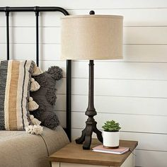 Bronze Ironwork-Style Table Lamp from Kirkland's