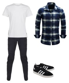 """""""Untitled #247"""" by dahianne-g on Polyvore featuring Maharishi, adidas Originals, men's fashion and menswear"""