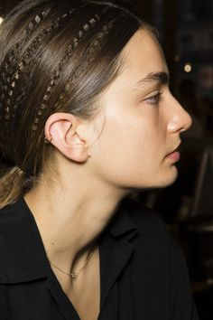 Crimping at Stella McCartney SS15