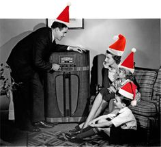 In the 1920s, 30s, 40s, and 50s families gathered around the radio to listen to the long-awaited Christmas editions of their favorite shows, making for great memories.