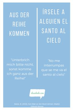 Frases hechas Alemán /español. Encuentra material para aprender español en nuestra Web! Madrid, Weather, Ideas, Learning Spanish, Spanish Class, Activities, Thoughts