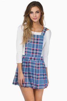 Oh My Darla Overall Dress