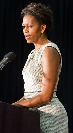 Speaking at a DNC Fundraiser in Boston, Massachusetts. What: Dress by Jason Wu.