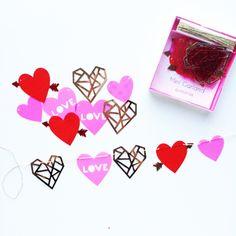 Hearts & Arrows Mini Garland – Shop Sweet Lulu