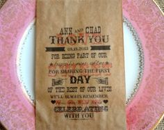 Wedding Favor Bags-Candy Buffet Bags-Wedding bags by RootedManor