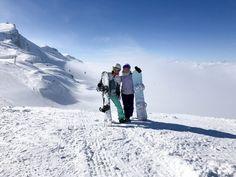 Snowboarding alps Davos Korkkarit rinkassa - Eveliina Tyllinen -