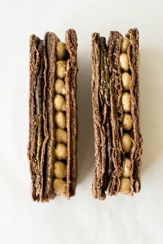 Golden Chocolate Mille Feuille from Butter and Brioche Just Desserts, Delicious Desserts, Dessert Recipes, Holiday Desserts, Dessert Ideas, Drop Cookies, Cupcake Cookies, Bakers Kitchen, Bread Kitchen