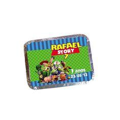 Não Acompanha recheio.  Fazemos qualquer tema! Quantidade Mínima 30  A inovação da sacolinha surpresa.  **Confira outros produtos no tema Toy Story** http://www.elo7.com.br/mimolembrancinhas/tema-toy-story/al/5275A  Valores para outros tamanhos: P - 12,5 X 9,5 X 2,5 cm - R$ 1,50 M - 16 X 12 X 3,5 cm - R$ 2,10 G - 19 X 14,5 X 3,5 cm - R$ 3,10  Enviamos antes a foto via e-mail para aprovação da arte.  Para compras no cartão de credito, favor verificar acrescimo. R$ 1,50