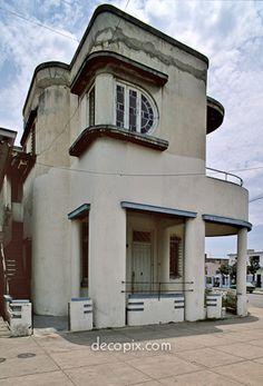 House, Havana, Cuba #ArtDeco #Cuba