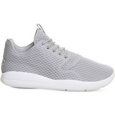 Nike Air jordan eclipse textile trainers ($94) ❤ liked on Polyvore featuring men's fashion, men's shoes, men's sneakers, mens lace up shoes, nike mens shoes and nike mens sneakers