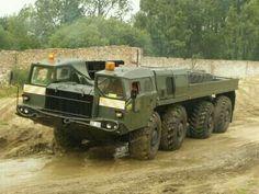 МАЗ-543  тягач  советской  армии