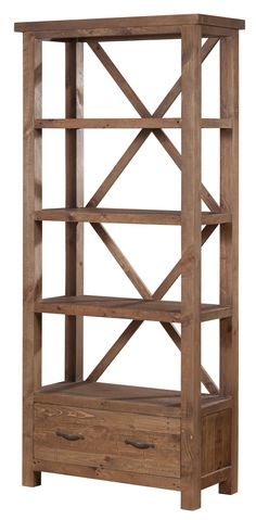 AlfrescoBookcase Table from LH Imports is a unique home decor item. LH Imports Site carries a variety of Alfresco items. Cube Bookcase, Etagere Bookcase, Unique Home Decor, Home Decor Items, Recycled Wood Furniture, Country Style Furniture, Vintage Bookcase, Decorative Storage, Cube Storage