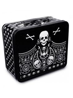 Bandana Skull Lunch Box by Loungefly #InkedShop #InkedMag #Bandana #Skull #Lunch #Box