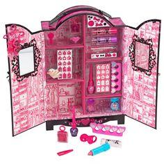 The Barbie Cosmetics wardrobe!