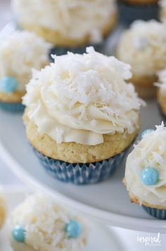 The Ultimate Coconut Cupcakes dessert recipe #coconut #cupcakes #dessert #recipe #cake #coconutcupcakes Cupcake Recipes, Baking Recipes, Cupcake Cakes, Cookie Recipes, Dessert Recipes, Ghost Cupcakes, Cupcake Flavors, Cupcake Ideas, Easter Recipes