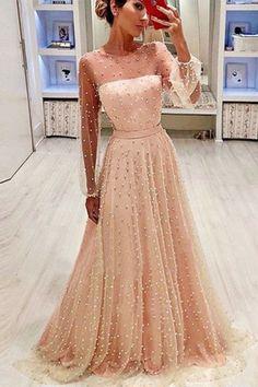 Unique Formal Dresses, Formal Dresses Online, Dresses Elegant, Prom Dresses Long With Sleeves, Pretty Dresses, Dress Long, Dress Formal, Fancy Dresses For Weddings, Dress Online