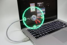 USB LED Fan Clock