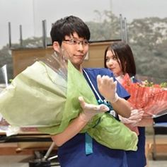 * この、アヒル口、、!(?) 可愛すぎる〜〜 ・ ・ コウノドリチーム、お疲れ様でした。 本当に素敵なドラマでした! ・ ・ しのりんの笑顔が増えたのがやっぱり1番嬉しかったです! ・ ・ #コウノドリ #星野源 #綾野剛 #松岡茉優 #吉田羊