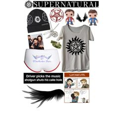 Supernatural, created by batman66 on Polyvore