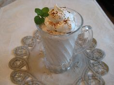 Coffee Mousse, Low Carb - Induction Friendly - Makes 2 servings @ 2.6 net carbs each