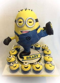 Karate-Kicking Minion