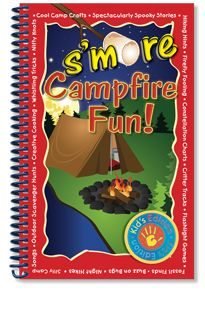 S'more Campfire Fun! Packed with everything from constellation charts and spooky ghost stories to flashlight games and creative nature crafts, this book is the ultimate kid-friendly guide to exploring the great outdoors!  Whether your camping trip takes you deep into the forest or just to your own backyard, make it s'more fun with these entertaining campfire songs, games, activities, recipes and tips. #6883163 | $12.95