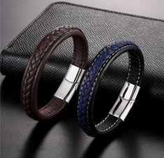 Fashion Hommes Finition Matte Bronze Rouge Bracelet Santé énergie magnétique Bracelet 15 mm