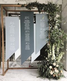 Wedding table decorations garden seating charts 34 ideas for 2019 – Wedding details ideas Seating Plan Wedding, Wedding Signage, Wedding Seating Charts, Reception Seating, Wedding Seating Display, Seating Arrangement Wedding, Wedding Backdrop Design, Wedding Venues, Table Seating Chart
