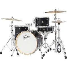 Gretsch 2014 Catalina Club Jazz 4-Piece Shell Pack - Satin Flat Black
