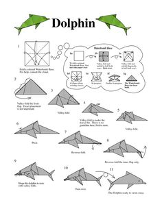 dolphin instructions, origami dolphin instructions, origami dolphin instructions, Check out the link for more Origami Designs Origami Seahorse Paper seahorse after all ДЕТСКИЕ ПОДЕЛКИ Origami Yoda, Origami Ball, Dragon Origami, Origami And Kirigami, Origami Folding, Paper Crafts Origami, Paper Crafting, Origami Boxes, Dollar Origami